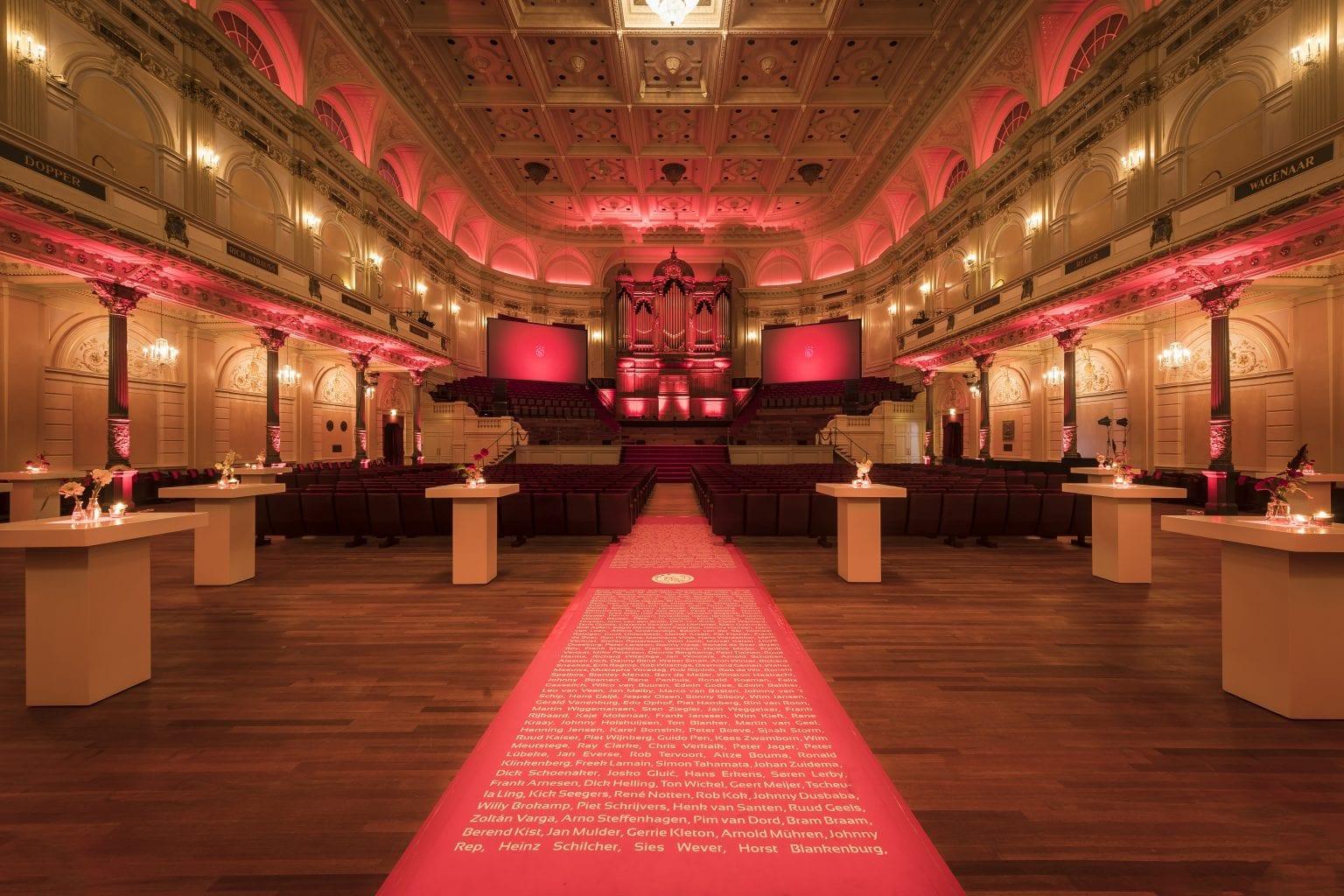 Main Hall reception