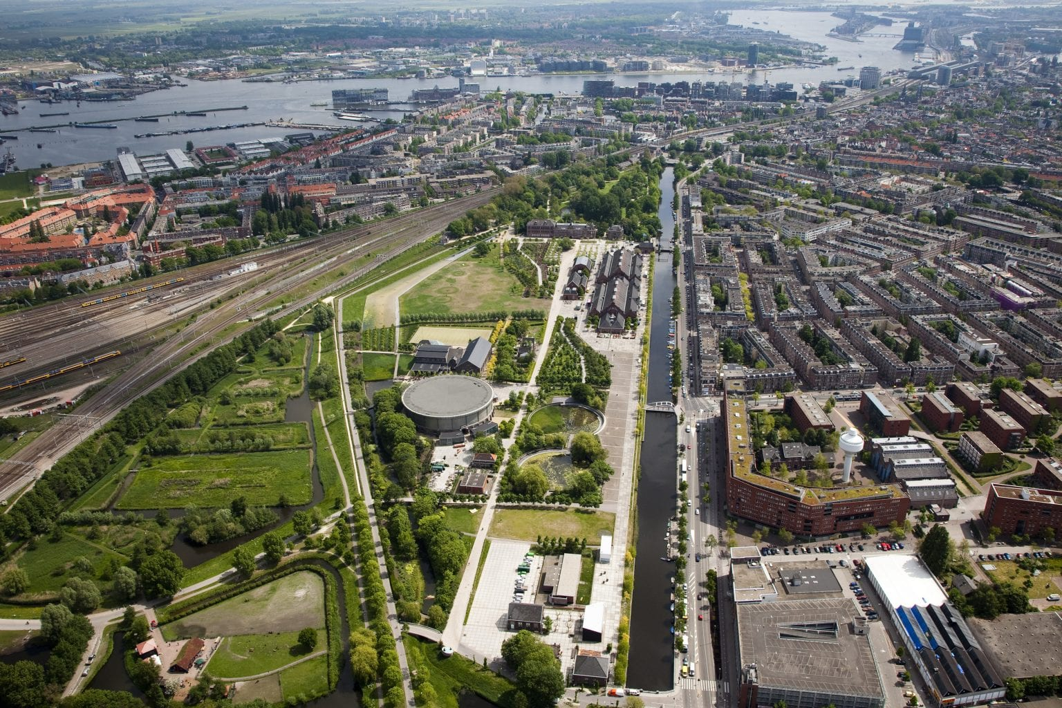 Westergasfabriek from above