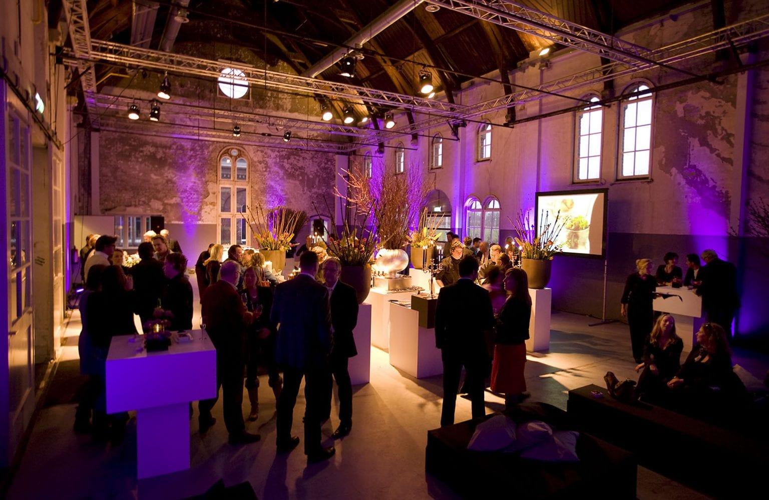 Westergasfabriek - Machinegebouw, reception