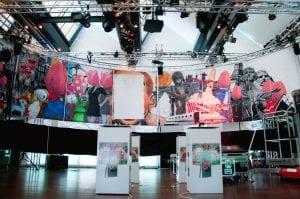 Theaterzaal - Kunst Presentatie