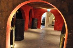 Het Rode Gevaar in de catacomben