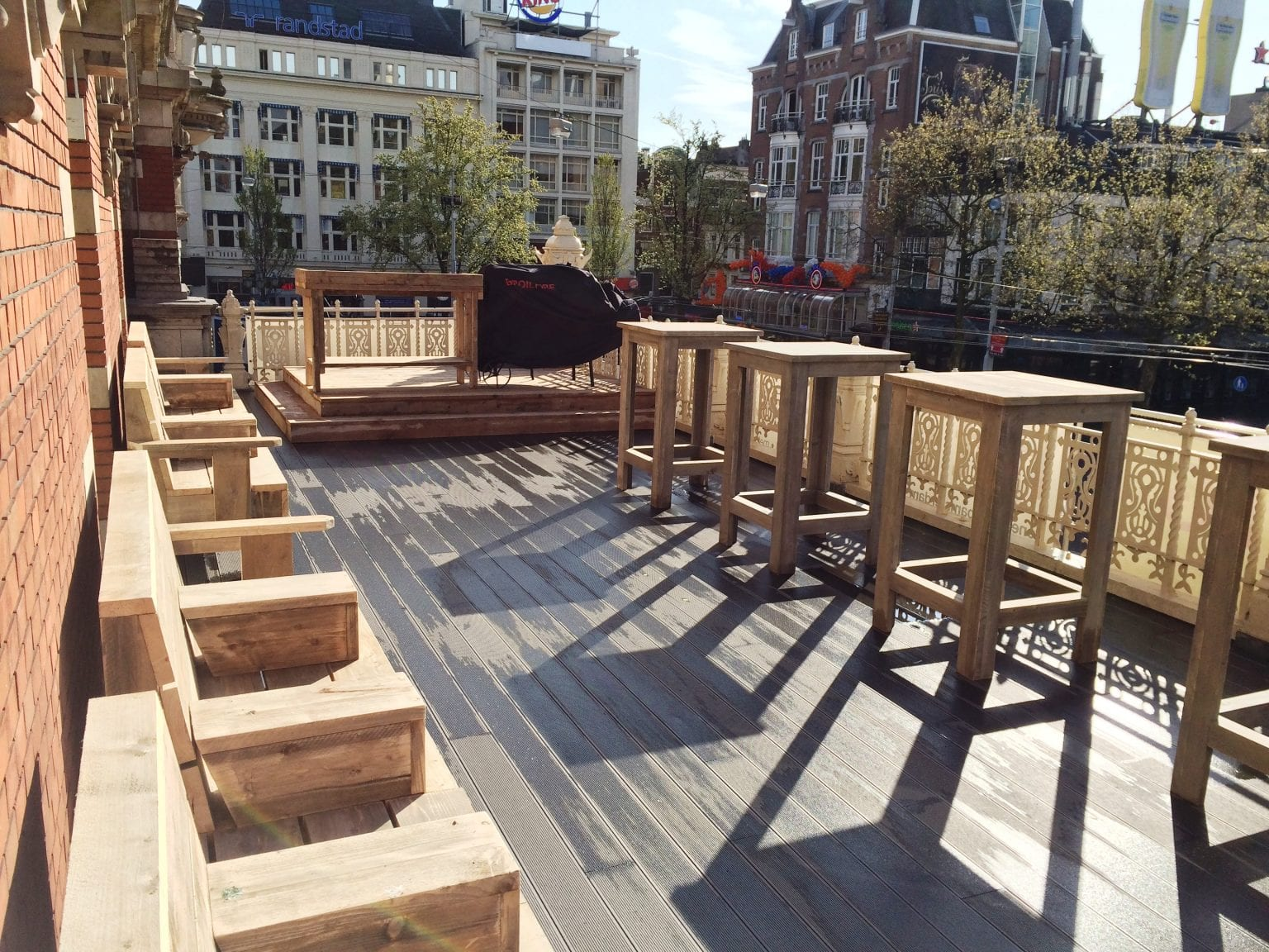 Ajax terrace Leidse garden