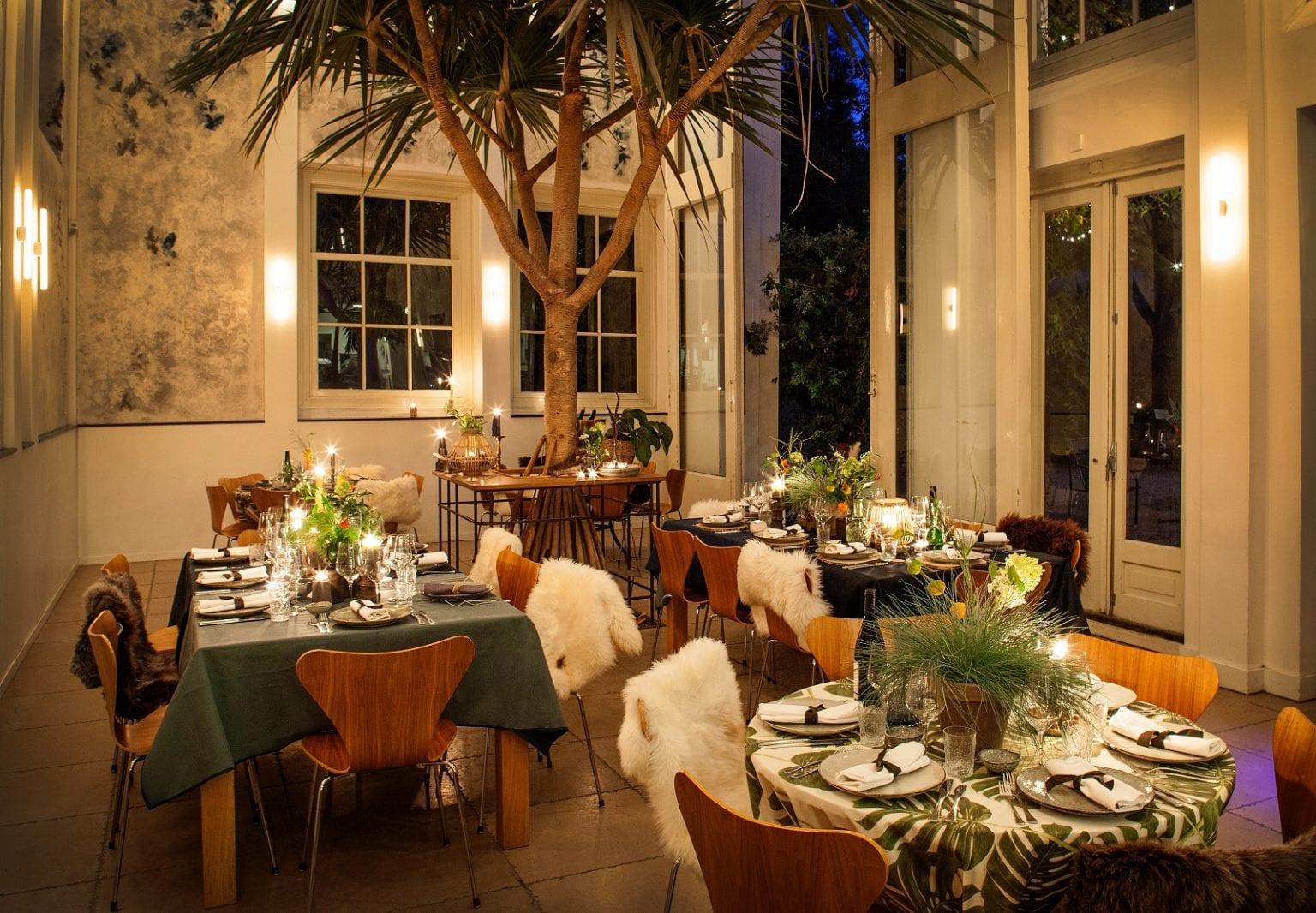 Hortus Oranjerie diner