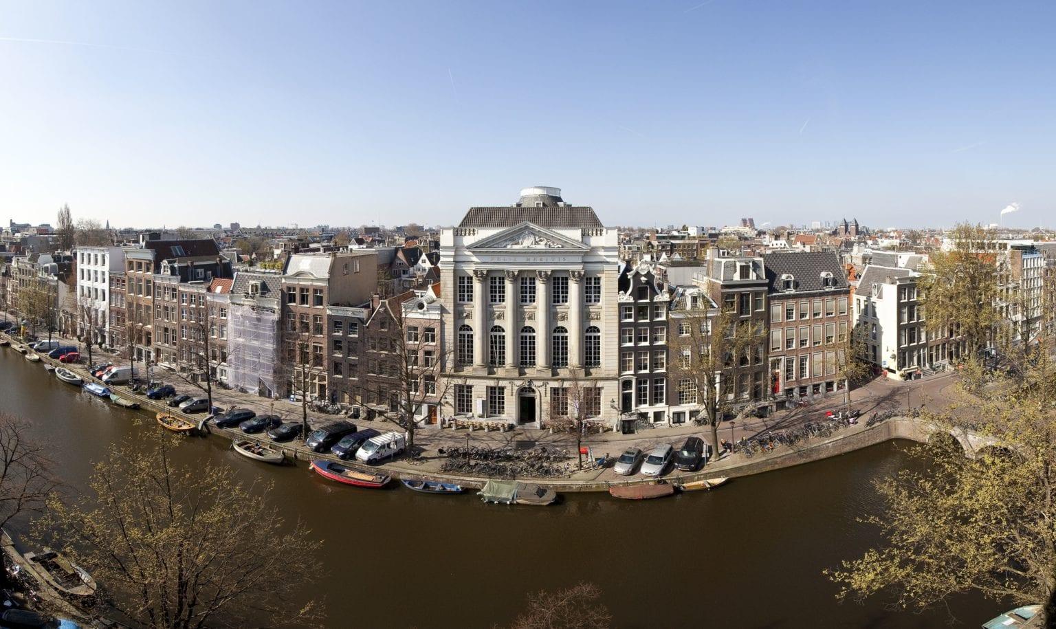 Nederland, Amsterdam, 29 maart 2011panorama, Keizersgracht, Felix Meritis, gracht, canalFoto: Thomas Schlijper