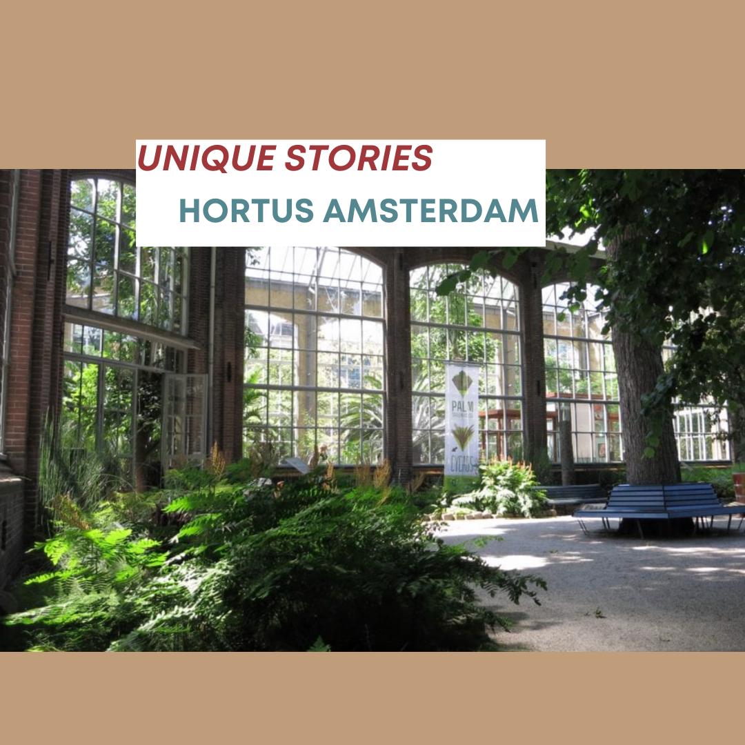 hortus amsterdam unique stories